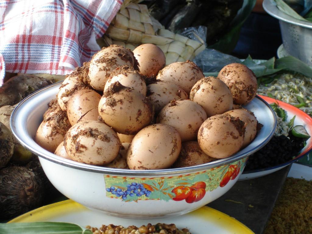 Bali, ägg på marknad © Elisabeth Sjöberg Strand