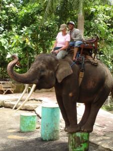 Bali, elefant-mahout © Elisabeth Sjöberg Strand