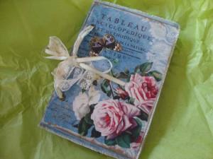 Gästbok med nostalgikänsla